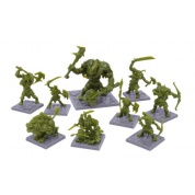 Dungeon Saga - Green Rage Miniature Set - EN
