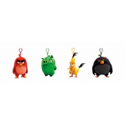 Angry Birds - Keychain: Assorted Plush and Plastic 9cm Figures Display (24 Figures)