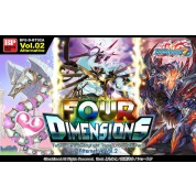 Future Card Buddyfight - Triple D Booster Display Alternative Vol.2: Four Dimensions (30 Packs) - EN