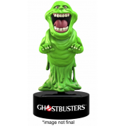 Ghostbusters Classic Movie - Slimer Solar Powered Body Knocker 15cm Bobble Head