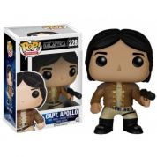 Funko POP! Television - Battlestar Galactica Captain Apollo Vinyl Figure 10cm (Slightly damaged box)
