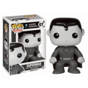 Funko POP! Heroes - Black and White Series: Superman - Vinyl Figure 10cm (Slightly damaged box)