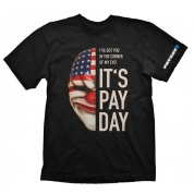 Payday 2 T-Shirt - Dallas Mask - Size M