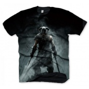 The Elder Scrolls V: Skyrim T-Shirt - Dragonborn - Size M