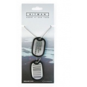 Hitman - Dog Tags - Barcode