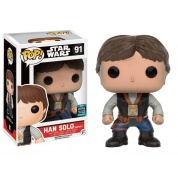 Funko POP! Star Wars - Han Solo Ceremony Vinyl Figure Bobble Head 10cm SW-Celebration 2016 limited