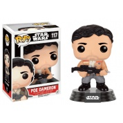 Funko POP! Star Wars Episode VII The Force Awakens - Poe Dameron Resistance Bobble Head 10cm limited