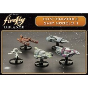 Firefly: The Game - Customizable Ship Models 2 - EN