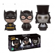 Funko Vinyl Sugar Dorbz - DC Comics Batman Returns Batman Penguin & Catwoman Collectible Figure 3-Pack 8cm SDCC 2016 Exclusive