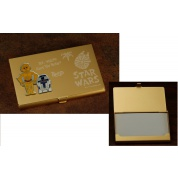 Star Wars Saga - C-3PO & R2-D2 Business Card Holder