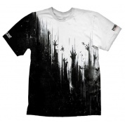 Dying Light T-Shirt - Black & White - Size XL