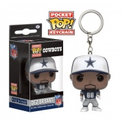 Funko Pocket POP! Keychain - Football NFL Dallas Cowboys DEZ BRYANT Vinyl Figure 4cm