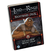 FFG - Lord of the Rings LCG: Escape from Mount Gram Nightmare Deck - EN