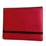 Legion - 8 Pocket Dragonhide Binder - Red