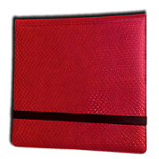 Legion - 12 Pocket Dragonhide Binder - Red