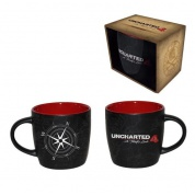 Uncharted 4: A Thief's End - Mug - Compass Map