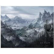The Elder Scrolls V: Skyrim - Wallscroll - Valley
