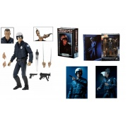 Terminator 2 - T-1000 Motorcycle Cop Ultimate Action Figure 18cm