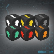 Endure the Stars: Character Colour Matched Injury Dice - EN