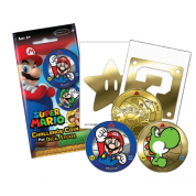 Super Mario Challenge Coin & Decal Blind Bag Display (24 Packs) - EN