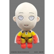One Punch Man - Saitama – Happy Version Plush Figure 28cm