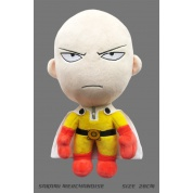 One Punch Man - Saitama - Angry Version Plush Figure 28cm