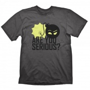 Serious Sam T-Shirt - Are You Serious - Size S
