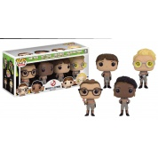 Funko POP!! Movies Ghostbusters 2016 - Mini Bobble Heads 7cm Wacky Wobblers Boxed Set (4) limited