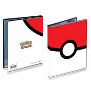 UP - 4-Pocket Portfolio - Pokemon - Pokeball
