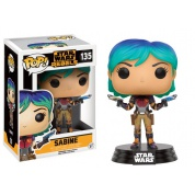 Funko POP! Star Wars Rebels - Sabine Vinyl Figure 10cm