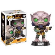 Funko POP! Star Wars Rebels - Zeb Vinyl Figure 10cm