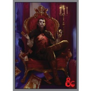 UP - Deck Protector Sleeves - Dungeons & Dragons - Count Strahd von Zarovich (50 Sleeves)