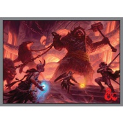 UP - Deck Protector Sleeves - Dungeons & Dragons - Fire Giant (50 Sleeves)