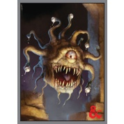 UP - Deck Protector Sleeves - Dungeons & Dragons - Beholder (50 Sleeves)