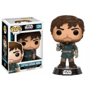 Funko POP! Star Wars Rogue One - Captain Cassian Andor Vinyl Figure 10cm
