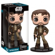 Funko Wacky Wobblers Star Wars Rogue One - Captain Cassian Andor Bobble Head 15cm