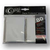 UP - Standard Sleeves - PRO-Matte Eclipse - White (80 Sleeves)