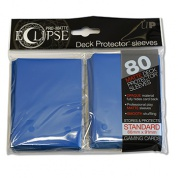 UP - Standard Sleeves - PRO-Matte Eclipse - Blue (80 Sleeves)
