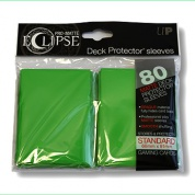 UP - Standard Sleeves - PRO-Matte Eclipse - Green (80 Sleeves)