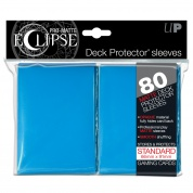 UP - Standard Sleeves - PRO-Matte Eclipse - Light Blue (80 Sleeves)