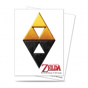 UP - Sleeves Standard - The Legend of Zelda: Tri-Force (65 Sleeves)
