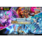Future Card Buddyfight - Shine! Super Sun Dragon!! - Triple D Booster Display (30 Packs) - EN