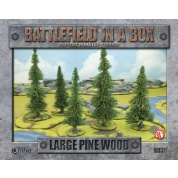 Battlefield in a Box Terrain - Large Pine Wood