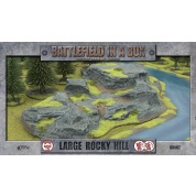 Battlefield in a Box Terrain - Large Rocky Hill