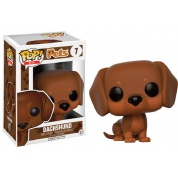 Funko POP! Pets Dogs - Dachshund Brown Variant Vinyl Figure 10cm