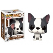 Funko POP! Pets Dogs - French Bulldog Grey & White Variant Vinyl Figure 10cm
