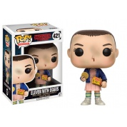 Funko POP! Television - Stranger Things Eleven with Eggos Vinyl Figure 10cm