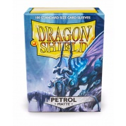 Dragon Shield Standard Sleeves - Matte Petrol (100 Sleeves)