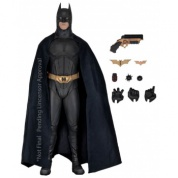 Batman Begins - Christian Bale as BATMAN Deluxe Action Figure1/4 Scale 46cm (Slightly damaged box)