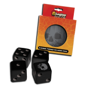 Legion - D6 Dice Tin - Iconic Skull